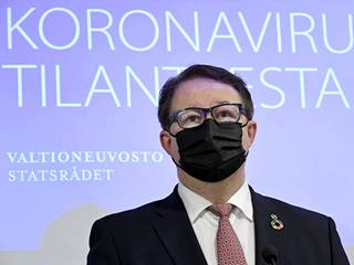 THL:n johtaja Mika Salminen.