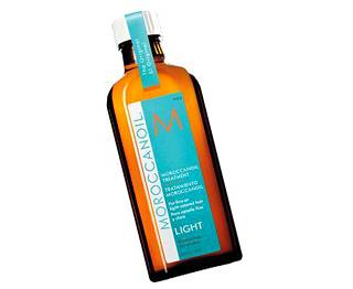 Moroccanoilin Treatment Light -hoitoöljy, 100 ml, 49 €.