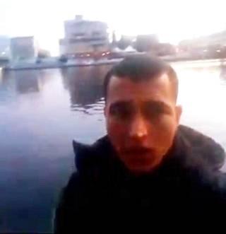Anis Amrista on julkaistu uusi kuva, joka on otettu sosiaalisessa mediassa julkaistulta selfie-videolta.