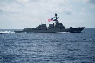 USS Wayne E. Meyer on vastustettu Aegis-ohjustorjuntajärjestelmällä.