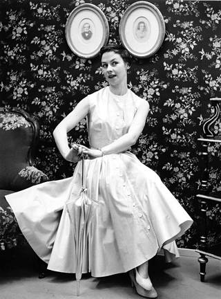 Muotia vuodelta 1955.