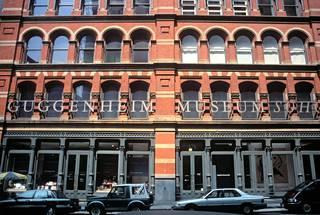 New Yorkin SoHossa sijainnut Guggenheim kuvattuna vuonna 1995.