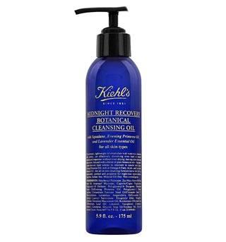 Kiehl's Midnight Recovery Botanical Cleansing Oil -kasvojenpuhdistusöljy kosteuttaa talvikuivaa ihoa. 32,99 €.