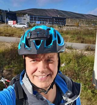 Nokian Hakka Van -renkaiden kehitysprojektista vastannut Mikko Liukkula on itsekin aktiivinen matkailuautoilija.