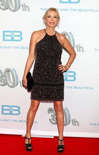 Katherine Kelly Lang on esittänyt Brookea Kauniit ja rohkeat -sarjassa jo 30 vuotta.