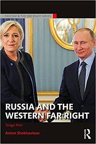 Anton Shehovtsovin kirja Russia and the Western Far Right: Tango Noir (Routledge, 2017) käsittelee informaatiovaikuttamista ja Venäjän yhteyksiä länsimaiden äärioikeistolaisiin liikkeisiin.