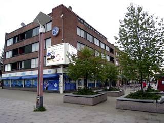 Rovaniemen keskustassa sijaitseva kerrostalo bingoineen on ollut RoPSin talouden kivijalka.