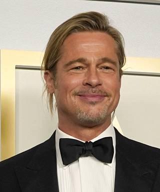 Brad Pitt viime Oscareissa huhtikuussa 2021.