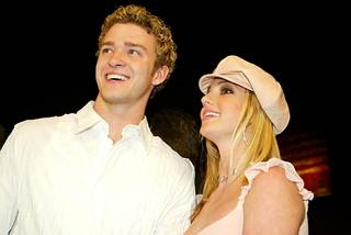 Justin Timberlake ja Britney Spears olivat popin superpari 2000-luvun alussa.