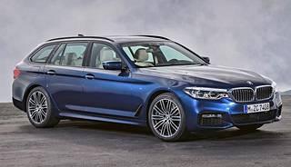 BMW on tuonut Geneveen uuden 5-sarjan farmarimallinsa.