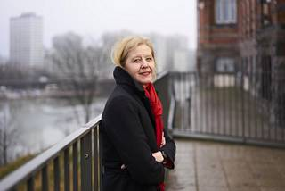 Tutkija Katariina Salmela-Aro kuvattuna 2016.