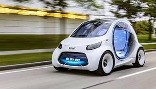 Tämä konseptimalli esitellään ensi viikolla Frankfurtin autonäyttelyssä. Auton kaupallistamisen tähtäin on kuitenkin seuraavan vuosikymmenen lopussa.