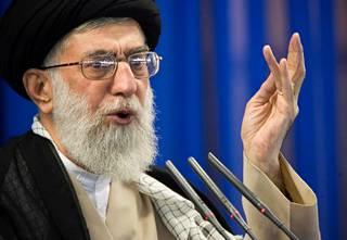 Ajatollah Ali Khamenei arkistokuvassa.