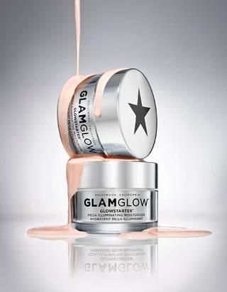 GLAMGLOW GLOWSTARTER Mega Illuminating Moisturizer, 39,90 €. Sävyt Pearl Glow, Nude Glow ja Sun Glow sopivat joko vaaleille, kaikille tai päivettyneille ihonsävyille.