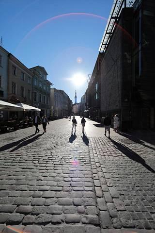 Tallinnassa on monia sisätiloissa olevia nähtävyyksiä, joihin paeta hellettä.