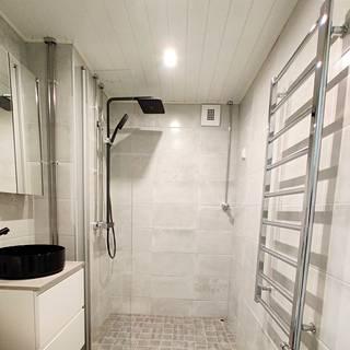 Valmis kylpyhuone