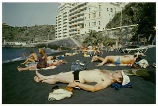 Linkola Teneriffalla vuonna 1987. Erakon maineestaan huolimatta hän on paljon matkustellut mies.