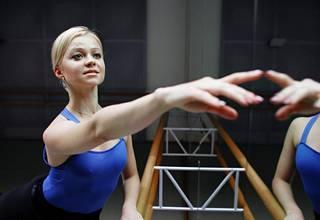 Elina Miettinen kuvattuna vuona 2008 New Yorkissa.