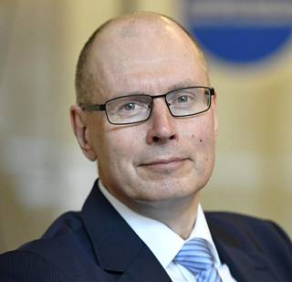 Oikeusministeriön vaalijohtaja Arto Jääskeläinen.