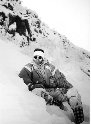 Luhdan Campus Skiing Teamin look vuodelta 1988.