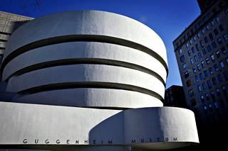 New Yorkin Guggenheim museo on yksi kolmesta avoinna olevasta museosta.