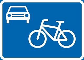 Yksi uusista liikennemerkeristä on pyöräkatu.