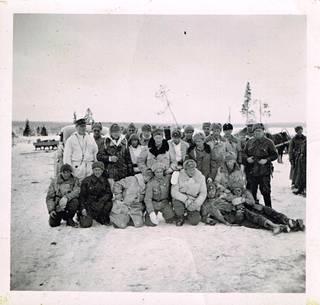 Lähtö Petrovski Jamiin helmikuussa 1942.