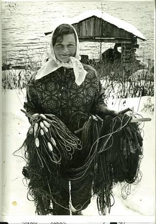 Linkolan vaimo Aliisa. Liitto kaatui Linkolan vaatimaan armottamaan elämäntapaan ja toiseen naissuhteeseen.
