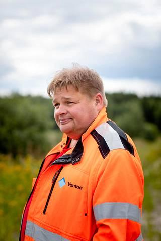 Vantaan kaupungin rakennusmestari Jukka Leino.