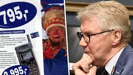 Pirkka-Pekka Petelius pyysi saamelaisilta anteeksi.