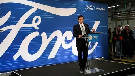 Fordin toimitusjohtaja Mark Fields