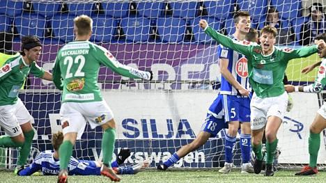 IFK Mariehamn päätti HJK:n kauden viikko sitten.