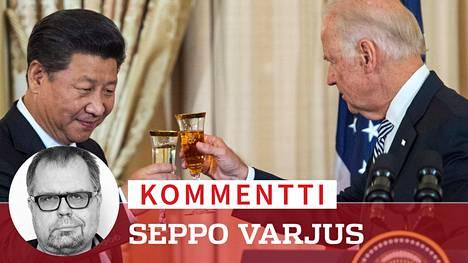 Vuonna 2015 Yhdysvaltain varapresidentti Joe Biden skoolasi Xi Jinpingin kanssa. Nyt välit Kiinan johtajan kanssa ovat paljon pulmallisemmat.