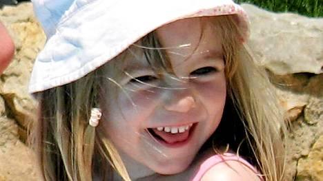 Madeleine McCann katosi 3. toukokuuta. Perhe julkisti tämän kuvan 24. toukokuuta samana vuonna.