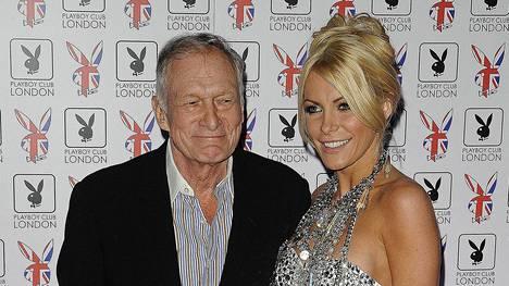 Hugh Hefner avioitui vaimonsa Crystalin kanssa vuonna 2012. Parilla oli noin 60 vuoden ikäero.