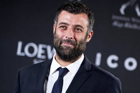 Toimittaja-kirjailija Nacho Carretero vuonna 2018 Madridissa järjestetyssä Icon awards -gaalassa.