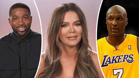 Khloé Kardashianin ex-miehillä Tristan Thompsonilla ja Lamar Odomilla on Kardashianin Instagram-kuvan kommenttikentässä kuumat tunnelmat.