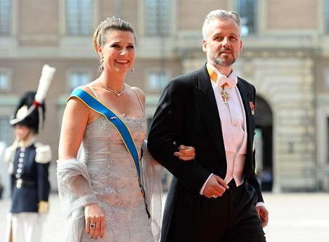 Märtha Louise ja Ari Behn edustivat yhdessä 2015.