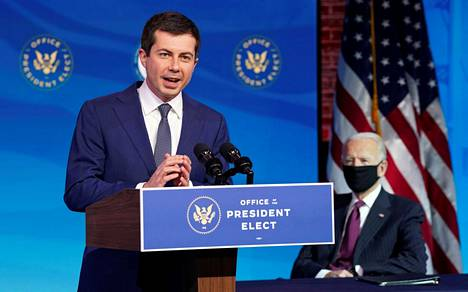 Pete Buttigieg pyrki samaan aikaan Bidenin kanssa presidentiksi demokraattien ehdokkaana.