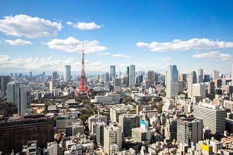 Tokiossa mikrokoteihin ihmisiä ajaa myös tilan puute. Kuvituskuva kaupungista.