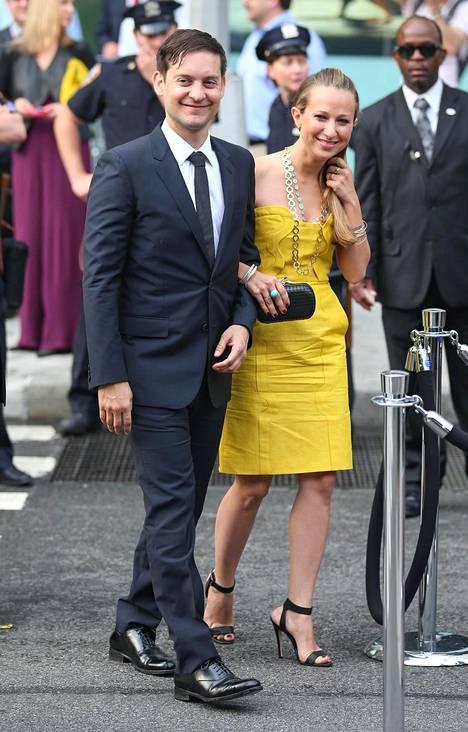 Tobey Maguire ja Jennifer Meyer ovat olleet naimisissa yhdeksän vuotta.