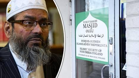Oulun moskeijan osoitteeseen on rekisteröity yritys, jonka omistivat Taz Rahman ja Oulun imaami Abdul Mannan (kuvassa).