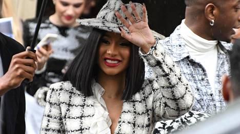 Rap-artisti Cardi B on yksi tämän hetken kuumimpia musiikkimaailman tähtiä.