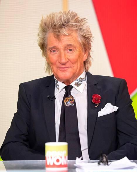 Rod punastui, kun tajusi, että studiossa puhutaan hänen vuosien takaisesta syrjähypystään.