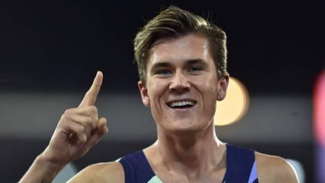 Jakob Ingebritsen juoksi hirmuisen tuloksen.