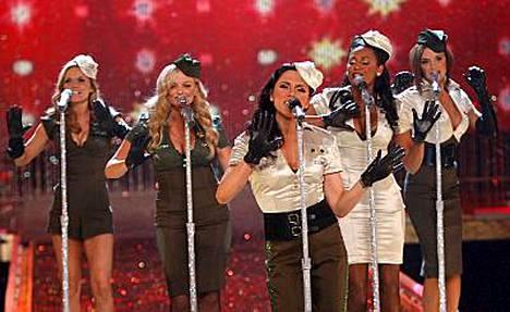 Spice Girlsin väitettiin peruneen konserttinsa.