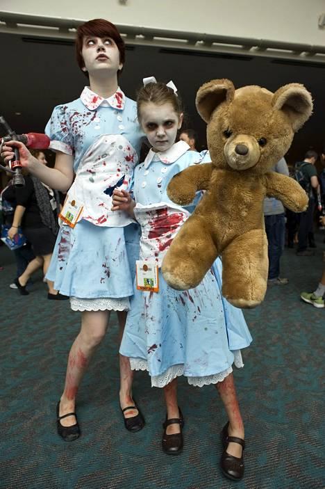 Little Sister -hahmoja Bioshock-pelisarjasta.