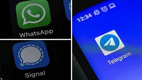 WhatsAppin kilpailijat ovat saaneet suosiopiikin viime päivien aikana. Jokaisella sovelluksella on omat vahvuutensa.