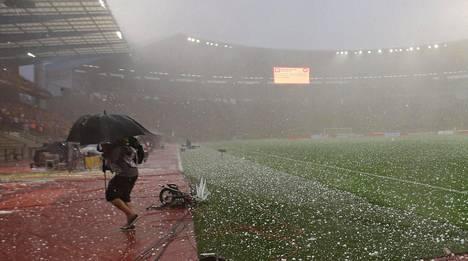 Entinen Heyselin stadion, nykyinen King Baudoin -stadion.