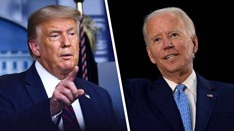 Joe Biden (oik.) kulkee kohti Valkoista taloa – mikäli professori Allan Linchtmanin ennustemalliin on uskomista.